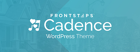 FRONTSTEPS Cadence WordPress Theme