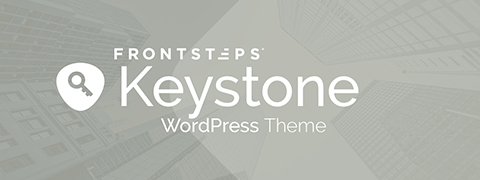 FRONTSTEPS Keystone WordPress Theme